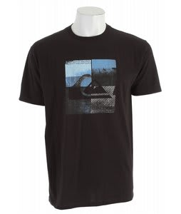 Quiksilver Locust Star T-Shirt Black