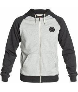 Quiksilver Major Raglan Hoodie Dark Grey Heather