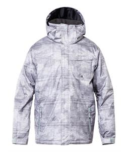 Quiksilver Mission Printed Insulated Snowboard Jacket Mercenary