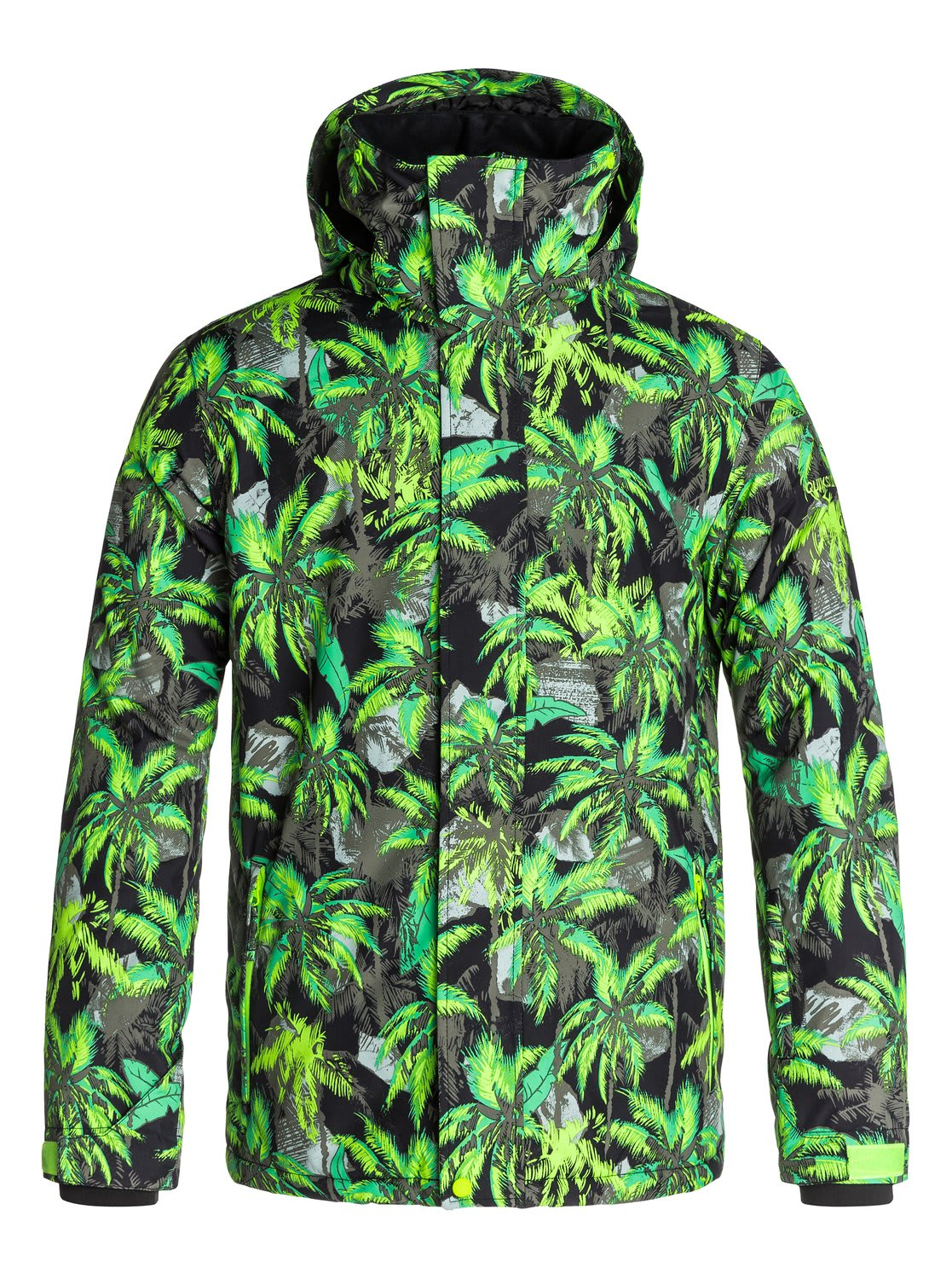 Quiksilver Mission Printed Shell Snowboard Jacket