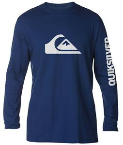 Quiksilver Mountain Wave L/S T-Shirt Estate Blue