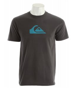 Quiksilver Mountain Wave Slim T-Shirt Dark Charcoal