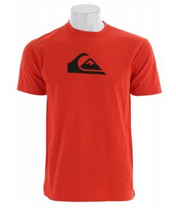 Quiksilver Mountain Wave T-Shirt Orange Bang