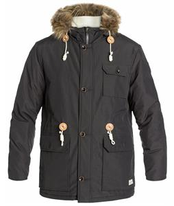 Quiksilver Mumford Jacket Dark Charcoal