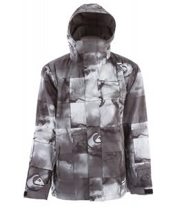 Quiksilver Next Mission Print Snowboard Jacket Black