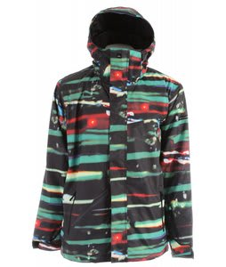 Quiksilver Next Mission Print Snowboard Jacket Multi