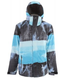Quiksilver Next Mission Print Snowboard Jacket Slate