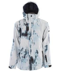 Quiksilver Next Mission Print Snowboard Jacket White