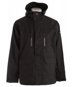 Quiksilver Piranha Shell Snowboard Jacket Black