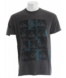 Quiksilver Pop Irritation T-Shirt Charcoal Heather