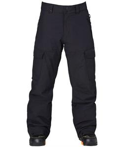 Quiksilver Porter Insulated Snowboard Pants Caviar