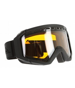 Quiksilver Q1 Goggles Black/Chrome Lens