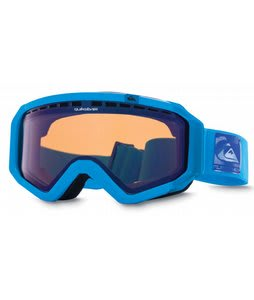 Quiksilver Q1 Goggles Blue/Flash Blue Lens