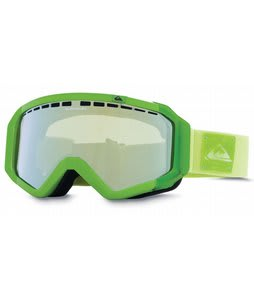 Quiksilver Q1 Goggles Dirty Lime/Flash Yellow Lens