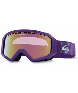 Quiksilver Q1 Goggles Purple/Flash Purple Lens