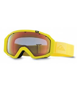 Quiksilver Q2 Goggles Yellow/Multilayer Yellow Lens