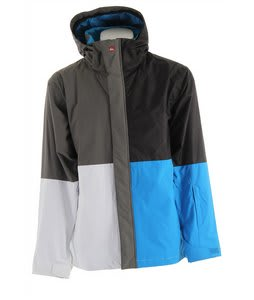Quiksilver Quarter Snowboard Jacket Black/White/Magazine/Azul/Smoke