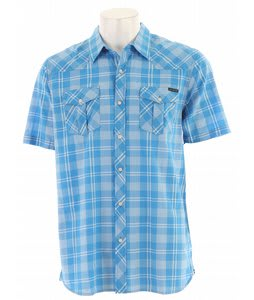Quiksilver Rambis S/S Shirt Blue