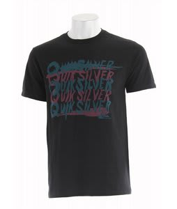 Quiksilver Repeater T-Shirt Black