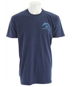 Quiksilver Seaside T-Shirt Dark Blue