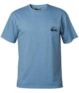 Quiksilver Small Wave MFK T-Shirt Bluestone Heather