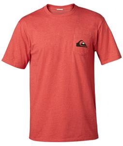 Quiksilver Small Wave MFK T-Shirt Original Red Heather
