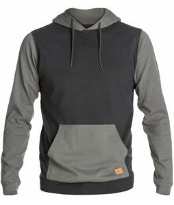 Quiksilver Snit Pullover Hoodie Dark Charcoal/Phantom