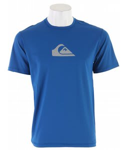 Quiksilver Solid Streak S/S Surf T-Shirt Royal