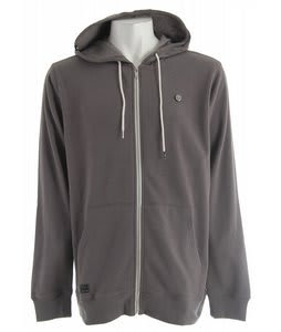 Quiksilver Stock It Hoodie Smoke Heather
