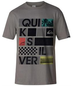 Quiksilver Stonesteps T-Shirt Metal