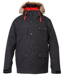 Quiksilver Storm Snowboard Jacket Caviar
