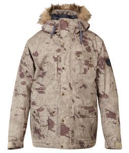 Quiksilver Storm Snowboard Jacket Leftover Camo
