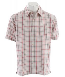 Quiksilver Sumner Bar Shirt Red