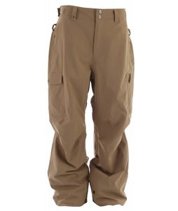 Quiksilver Surface Shell Snowboard Pants Khaki