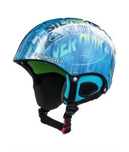 Quiksilver The Game Snowboard Helmet Blue