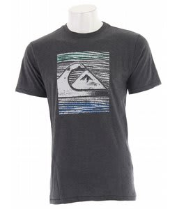 Quiksilver The Wedge T-Shirt Charcoal Heather