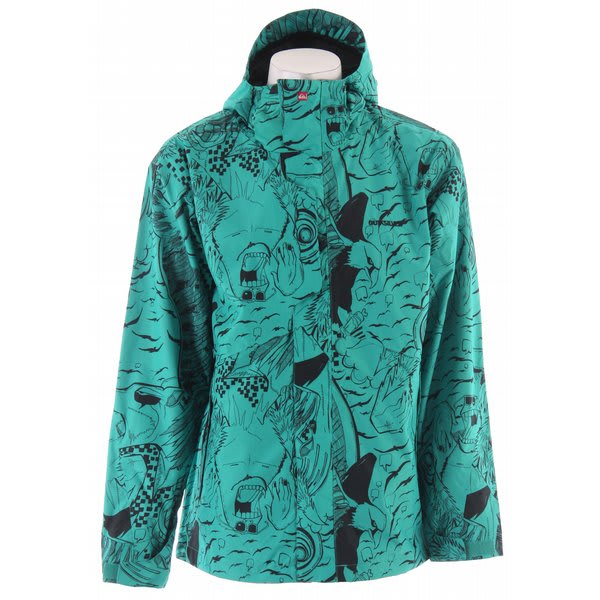 Quiksilver Tracker Print Shell Snowboard Jacket