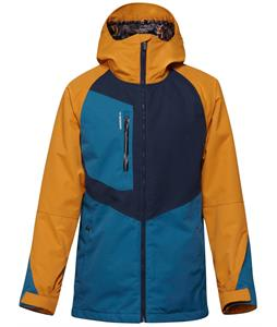 Quiksilver Travis Rice Roger That Snowboard Jacket Sudan Brown