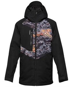 Quiksilver Travis Rice Roger That Snowboard Jacket Tiger Camo