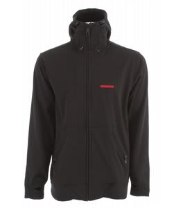 Quiksilver Travis Softshell Snowboard Jacket Black