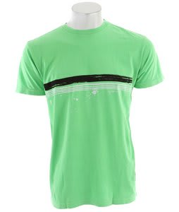 Quiksilver Treason Neon T-Shirt Bright Green