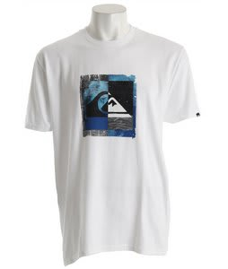 Quiksilver Wallart T-Shirt White