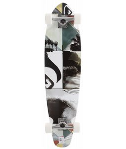 Quiksilver Strand LB Longboard Skateboard White