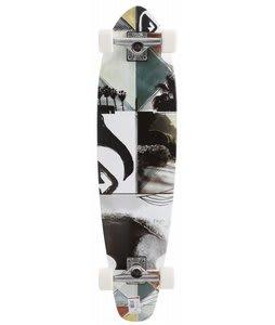 Quiksilver Strand LB Longboard Skateboard White