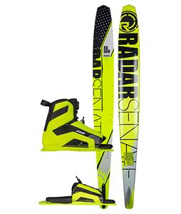 Radar Alloy Senate Slalom Ski w/ Vector/ARTP Standard Bindings