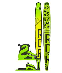 Radar Alloy Senate Waterski w/ Verde Vector/ARTP Bindings