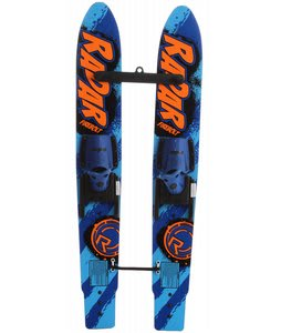 Radar Firebolt 46 w/ Child Adjustable Horseshoe Bindings Glo Orange/Blue