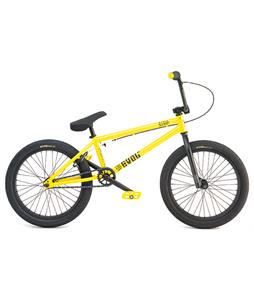 Radio Evol BMX Bike Yellow 20in/20.5in Top Tube