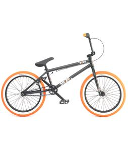 Radio Saiko BMX Bike Black 20in/20.5in Top Tube