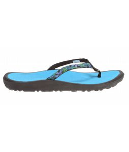 Rafters Breeze Skinny Tropicana Sandals Blue